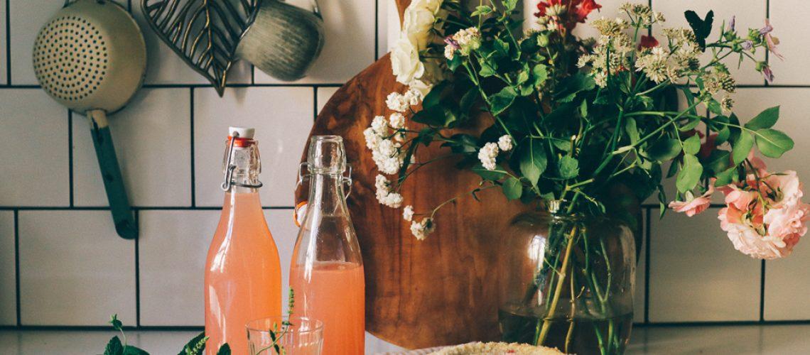 rabarberlemonad recept volanglinda lovely life