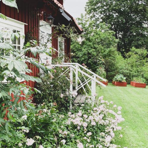 Lunch på Långängens Gård på Lidingö