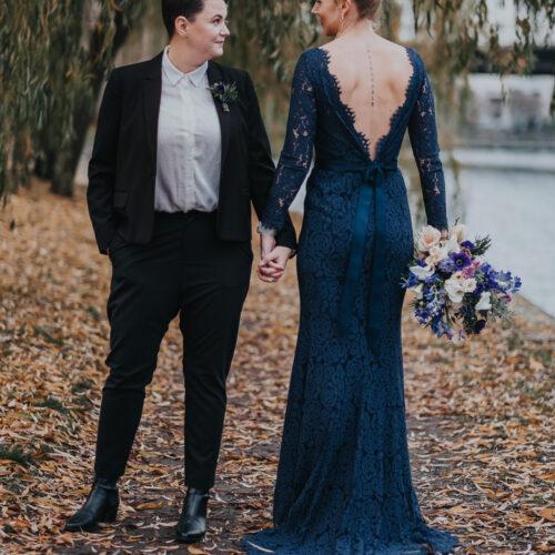 Matilda och Carolinas vinterbröllop