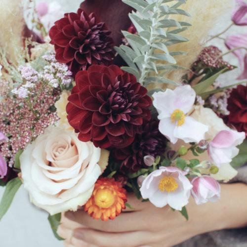 Att göra en bukett och blomstersvammel