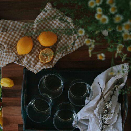 Elderflower spritz & spring afternoons