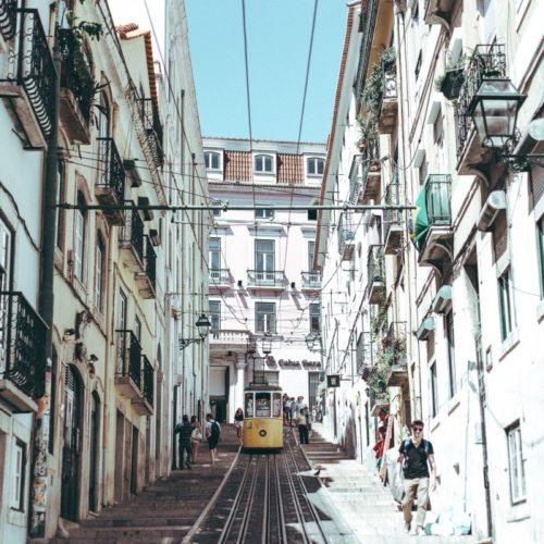 En alldeles ljuvlig upptäckt – och att resa till Lissabon
