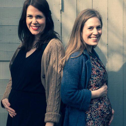 Det stora gravidinlägget om Vintagefabriken-tvillingarna