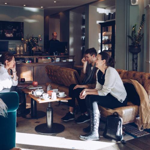 Stockholm och pressfrukost för Svenskt Tenn