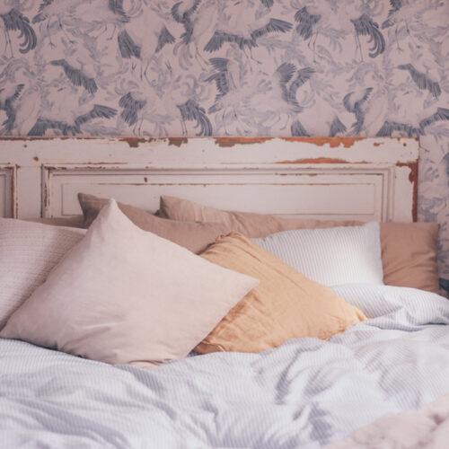 Gästblogg av Johanna Gilan; Sovrum i sommarstugan