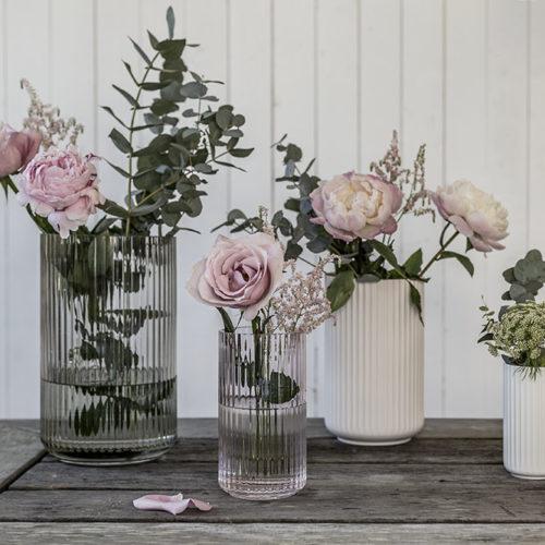 Fredagsbuketter i finfina vaser